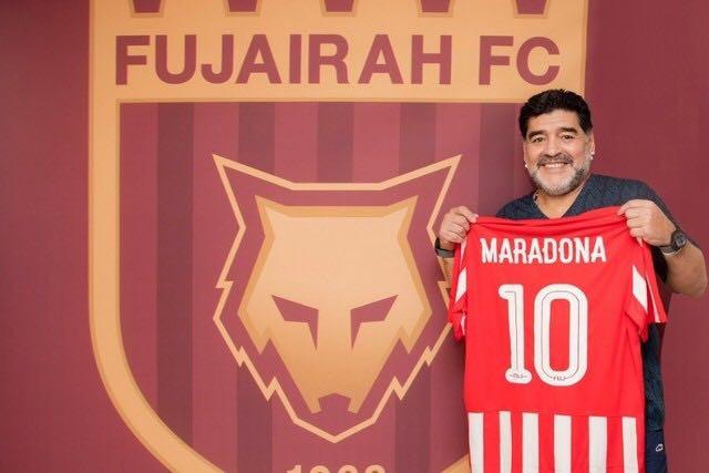 Diego Armando Maradona - Fujairah FC