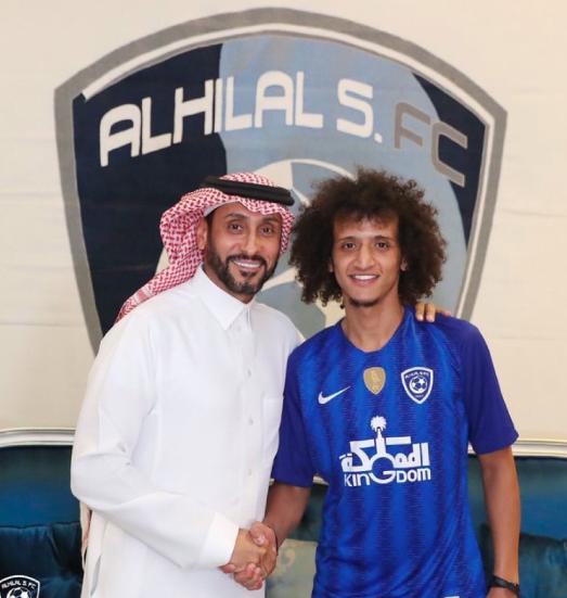 AFC Champions League; Al Hilal signed with Omar Abdulrahman