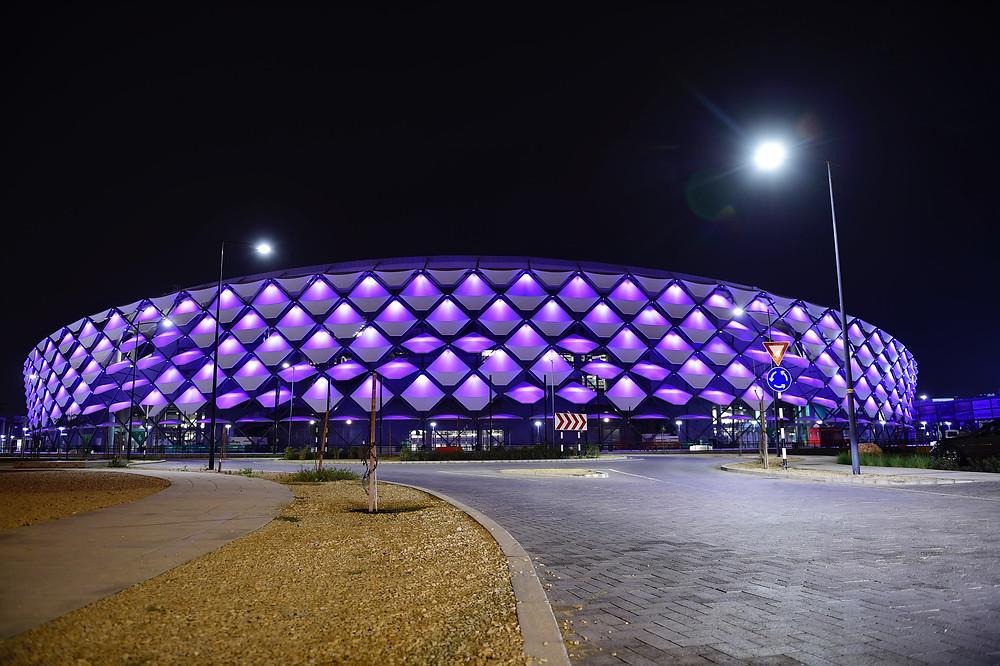 AG Cup final at Hazza Bin Zayed Stadium