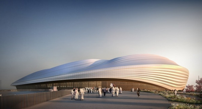 Al Wakrah stadium 2022 FIFA World Cup - Road to Qatar 2022