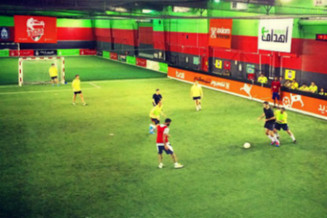 Too hot outside? Where to play indoor football in Dubai?