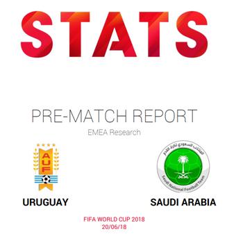 Uruguay vs Saudi Arabia; pre-match report and insights by STATS