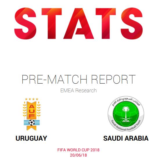 FIFA World Cup Russia 2018, Uruguay vs Saudi Arabia pre-match report and insights