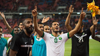 Saudi Arabia moved up five positions in the FIFA ranking