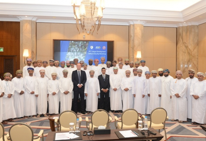 Stadium security workshop Oman, AFC