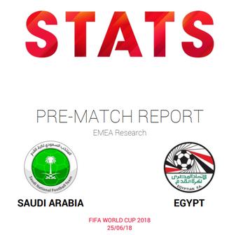 Saudi Arabia vs Egypt; pre-match report and insights