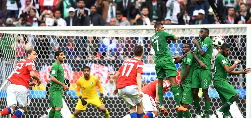 FIFA World Cup Russia 2018; Saudi Arabia vs Russia- Analysis