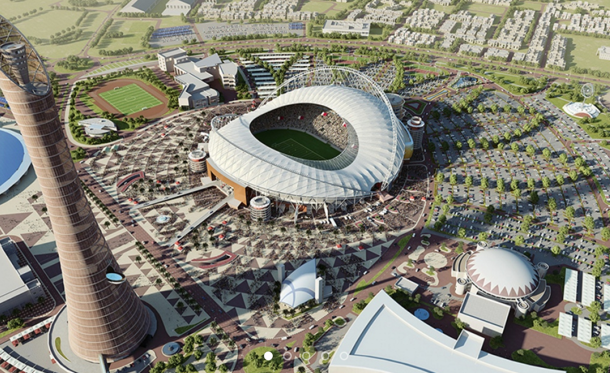 Khalifa International Stadium: The c