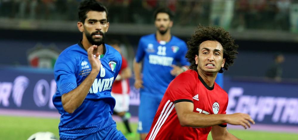 Friendly match, Kuwait vs Egypt