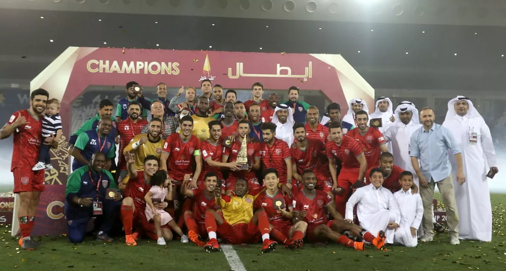 Qatar Cup 2018 winners Al Duhail, Qatar Stars League 2018