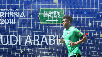 The Saudi National Team concludes its training before leaving for Volgograd