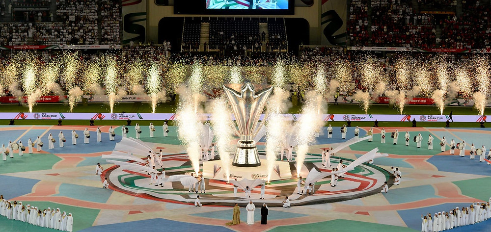 Asian Cup UAE 2019, inaugural ceremnoy