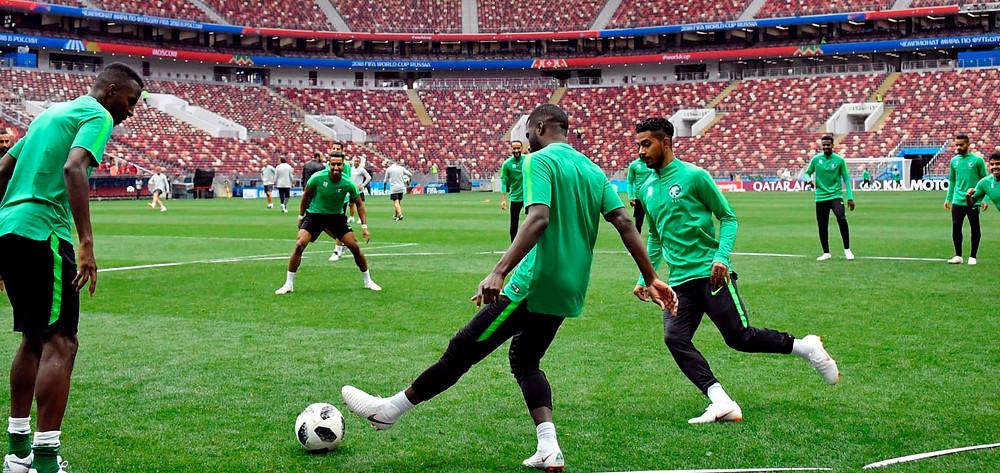 2018 FIFA World Cup Russia, Saudi Arabia