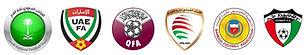 KSA, UAE, Qatar, Oman, Bahrain, Kuwait football federations