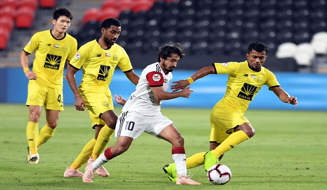 Arabian Gulf League, Agleague, Al Jazira vs Al Wasl 2-0