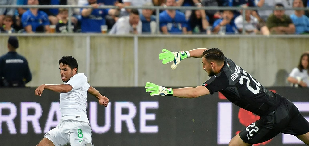 Italy vs Saudi Arabia friendly match before heading to the FIFA World Cup Russia 2018