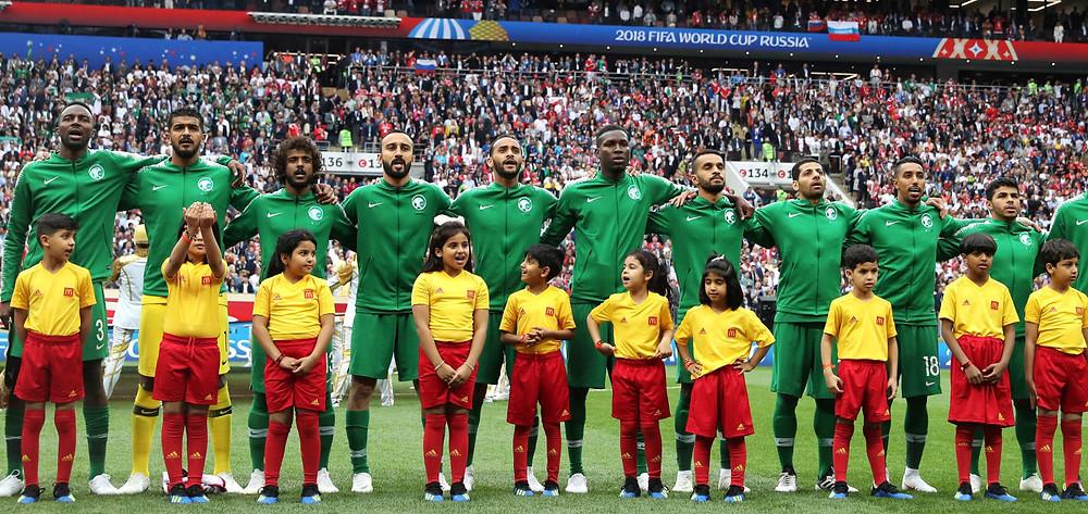 FIFA World Cup Russia 2018, Saudi Arabia