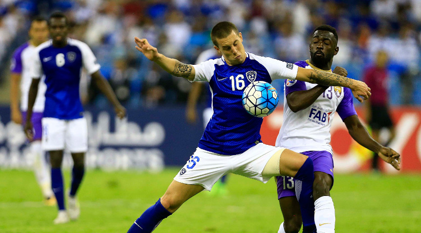AFC Champions League 2016/17 Al Hilal Nicolas Milesi