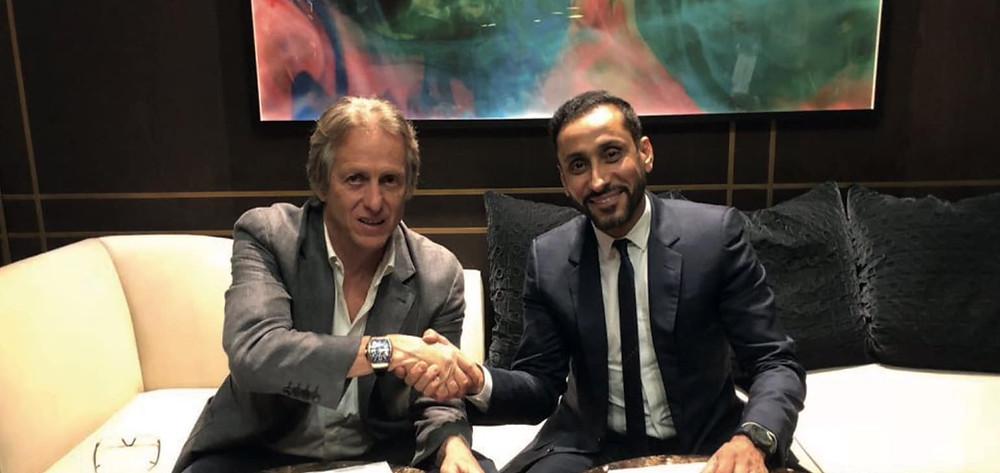 Al Hilal Saudi Arabia, appointed Jorge Jesus as their head coach