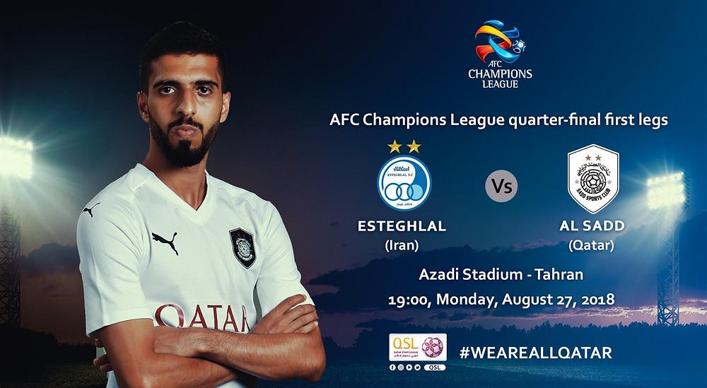 Al Sadd vs Estaghlal, AFC Champions League