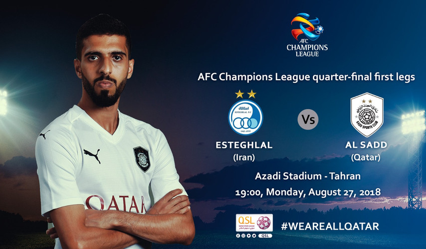 Keen tussle on cards as Al Sadd face Esteghlal
