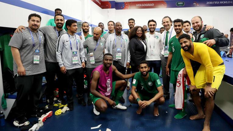 FIFA World Cup Russia 2018, Saudi Arabia vs. Egypt 2-1