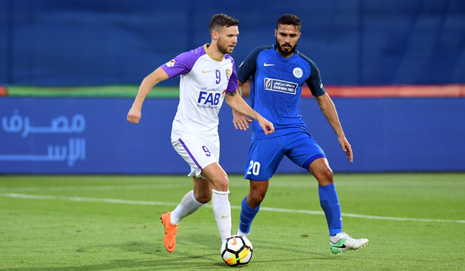 Marcus Berg against Al Nasr