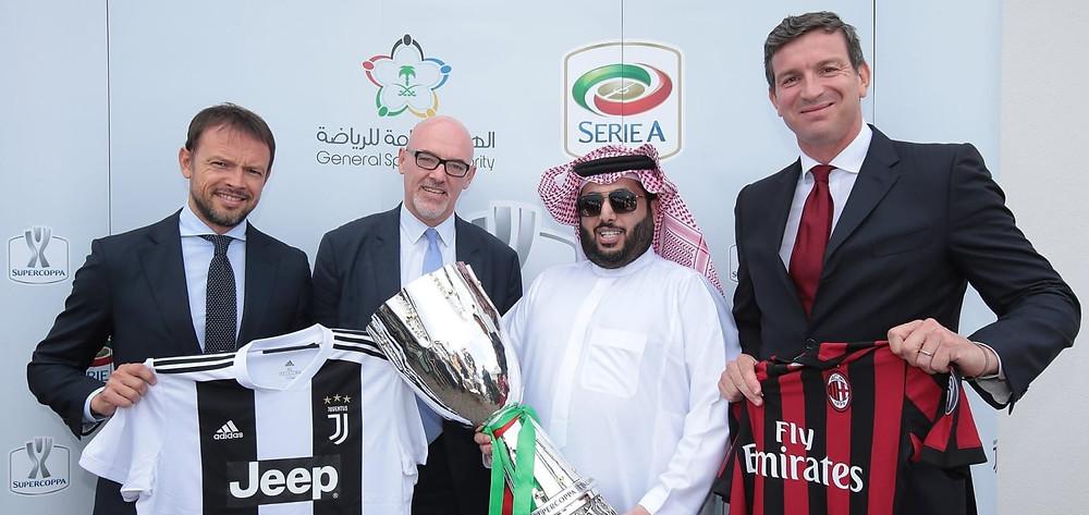 Italian Super Cup in Saudi Arabia, Juventus vs Milan