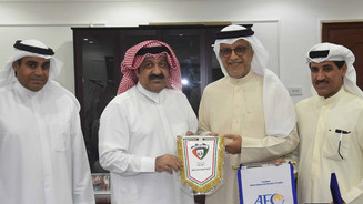 Shaikh Salman pledges full support for Kuwait FA's plans to grow the game