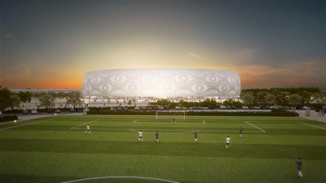 Road to Qatar 2022 World Cup Thumama Stadium
