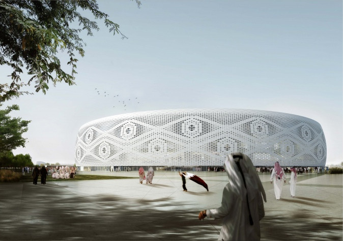 Qatar World Cup 2022- Al Thumama Stadium