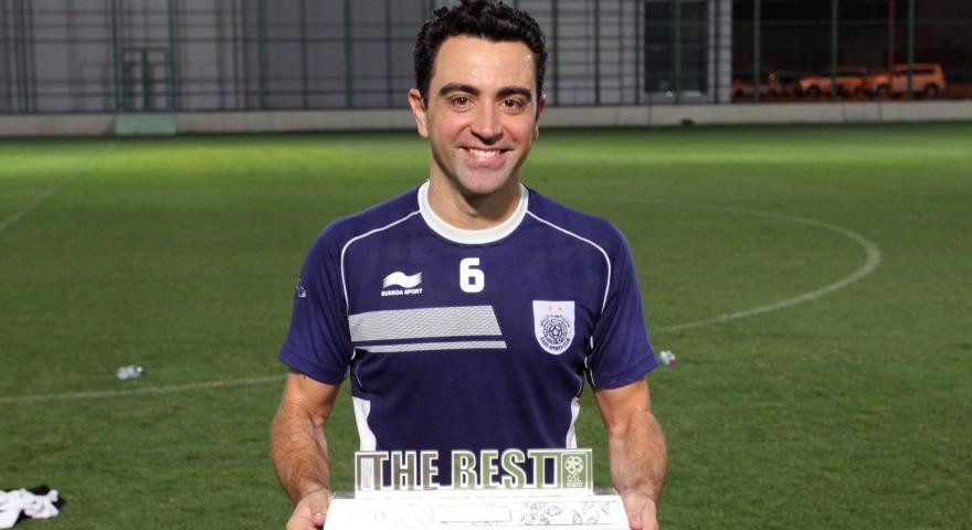 Qatar Stars League- player of the month- April- Xavi