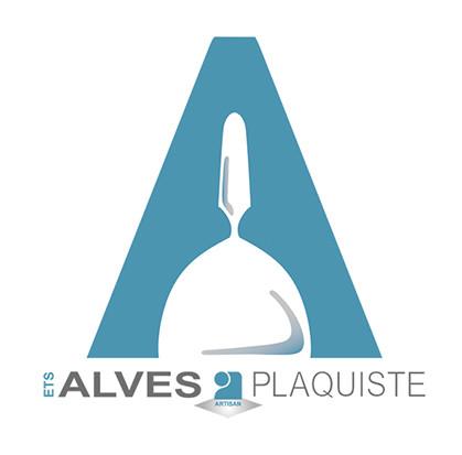 logo plaquiste entreprise Alves