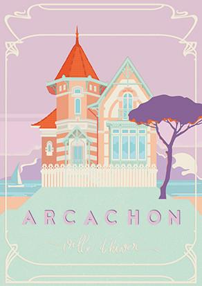 poster arcachon