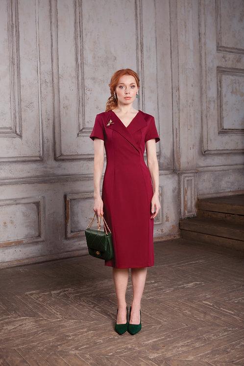 Платье FOUR SEASONS вишневое