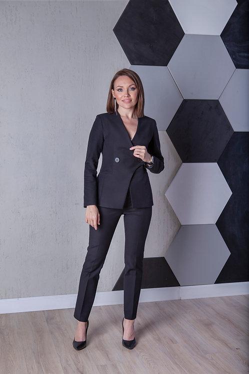 Женский костюм ВСАДНИЦА в черном