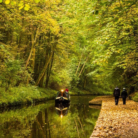 Canal, North wales