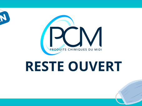 Reconfinement : PCM reste ouvert