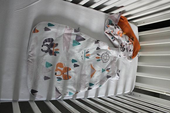 Collection Renard Marron/Orange/Vert