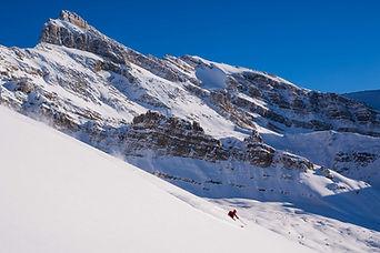 Great powder skiing