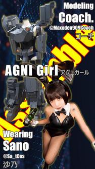 Sano with AGNI Girl