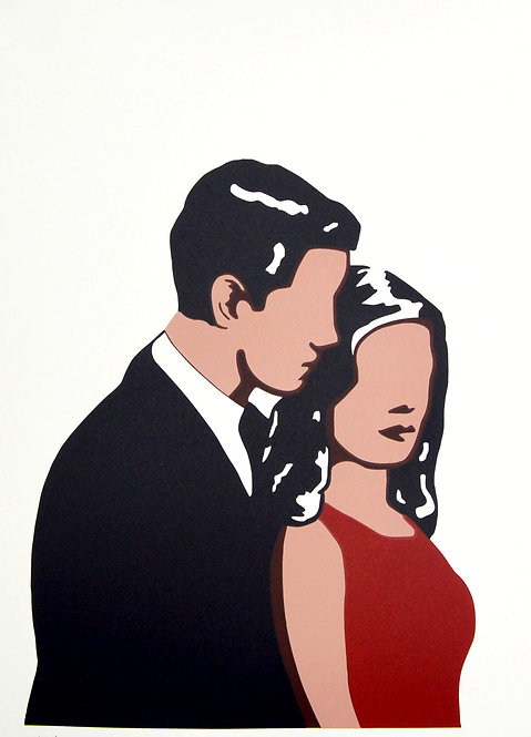 Adriana Oliver 'Only You' Limited Edition Screen Print