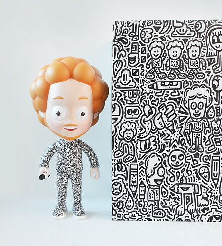 mr doodle the doodler resin figure prints