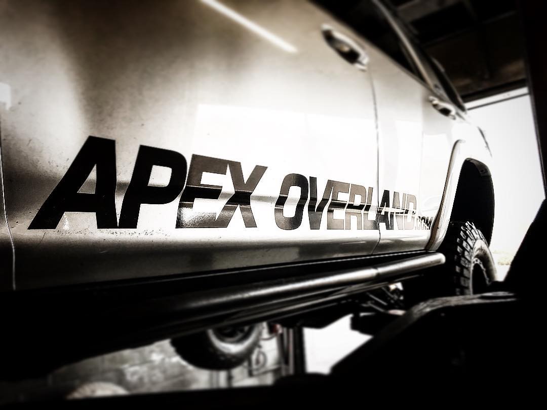 Apex Overland Graphic Silver