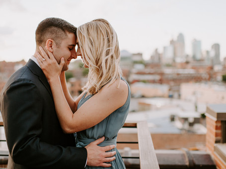 Alison & Barton // Kansas City Engagement