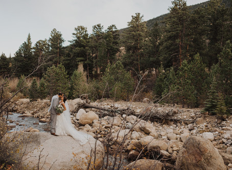 Abby & Brendan's Estes Park Wedding //  Della Terra Mountain Chateau