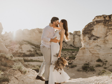 Kaitlan & Alvan // Castle Rock Inspired Elopement