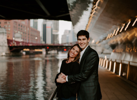 Logan & Blaine // Chicago Engagement