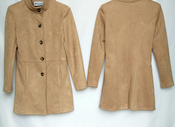 Giacca trench suede