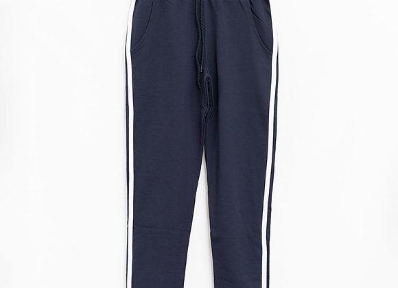 Pantaloni felpa righe